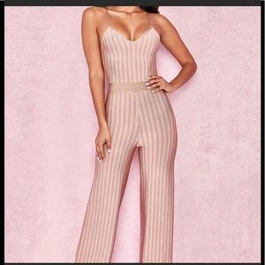 House of Cb  bandage Jumpsuit